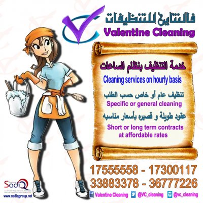 Cleaning service on hourly basis